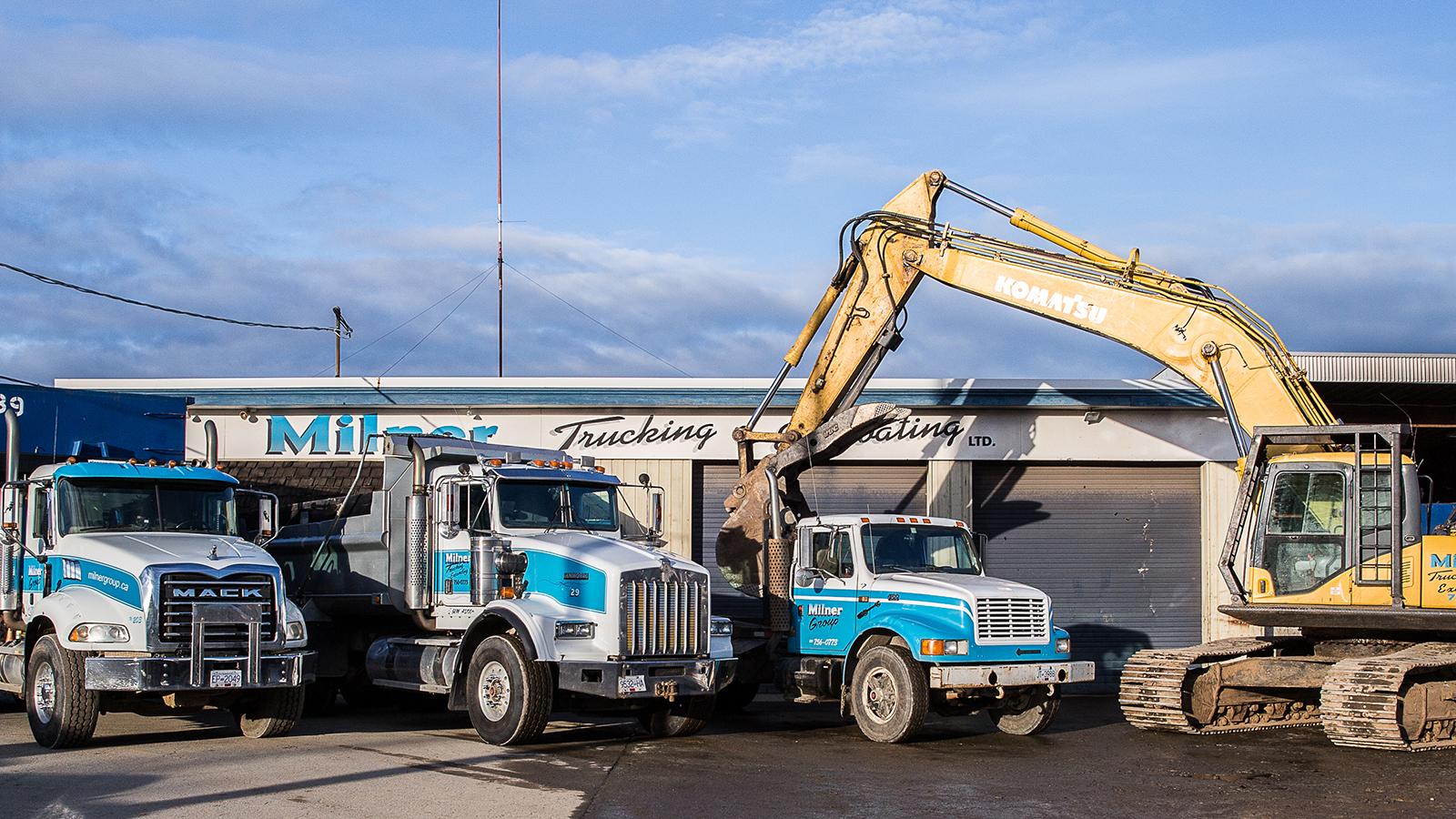 Milner Trucking & Excavating Corporate Office