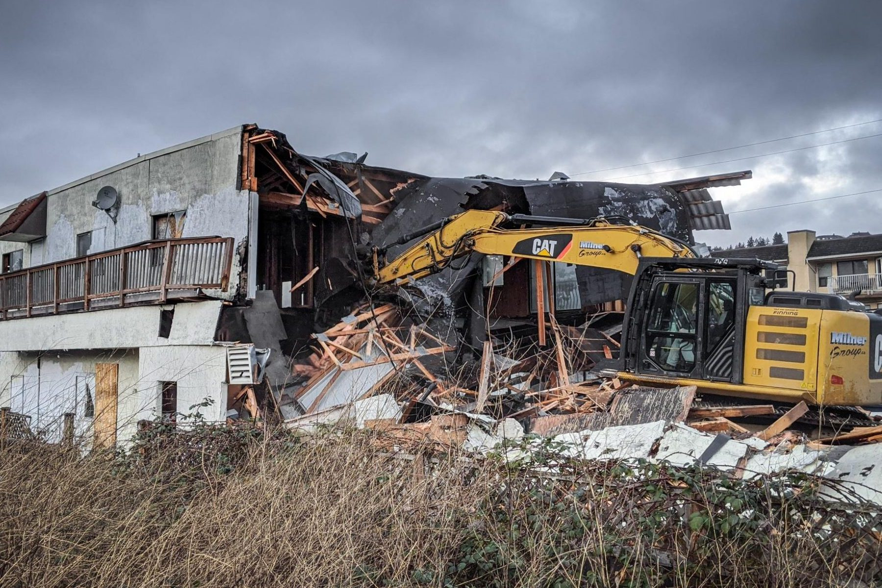 Amrikko's being demolished